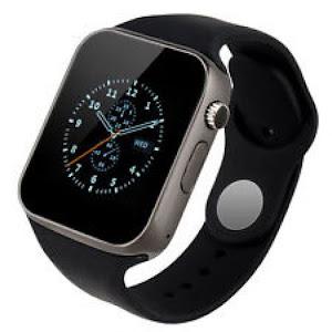 Ceas Bluetooth Smartwatch A1 Blakck Edition, Telefon MicroSIM, microSD Camera