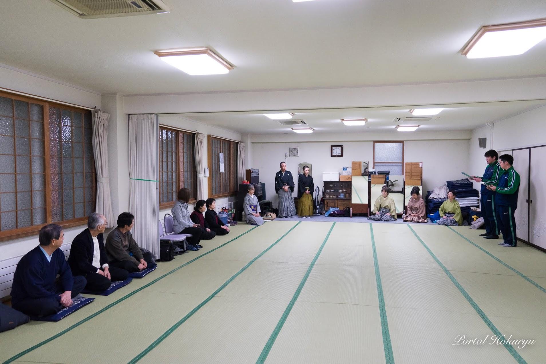公民館講座「剣詩舞教室」