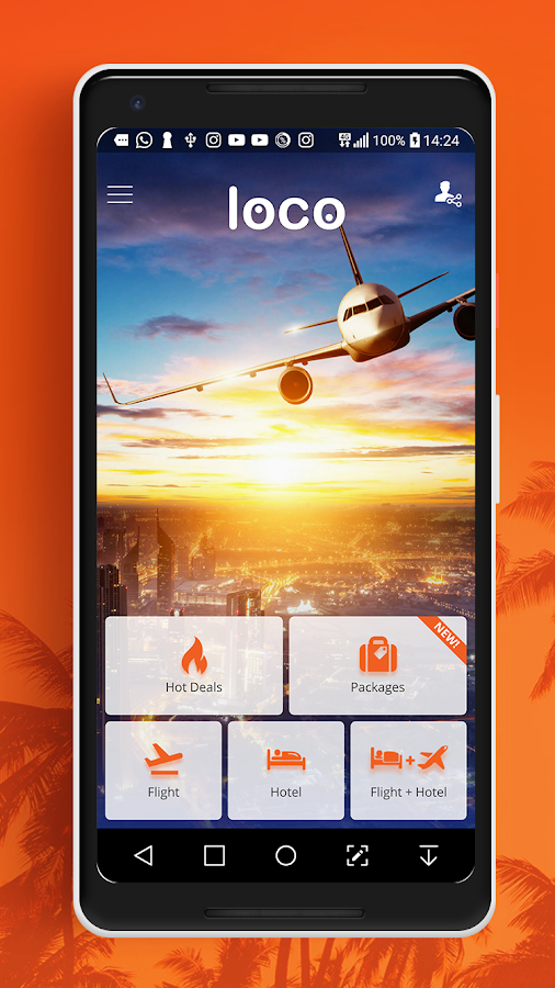 Loco - Cheap Flights, Hotels & Vacation Packages- screenshot