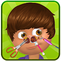 Celebrity Kid Nose Doctor Game icon