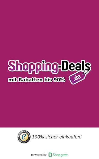 Shopping Deals - 70 Rabatt