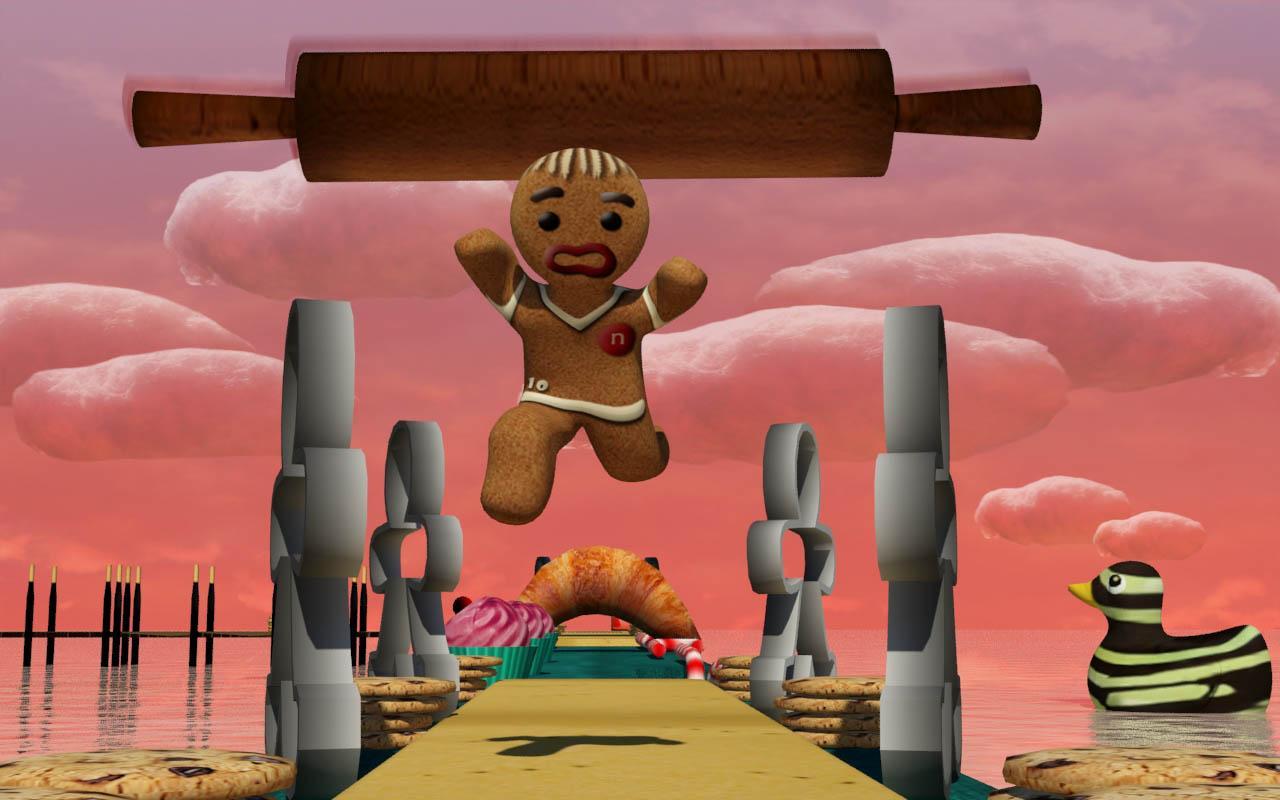 Gingerbread Run- screenshot