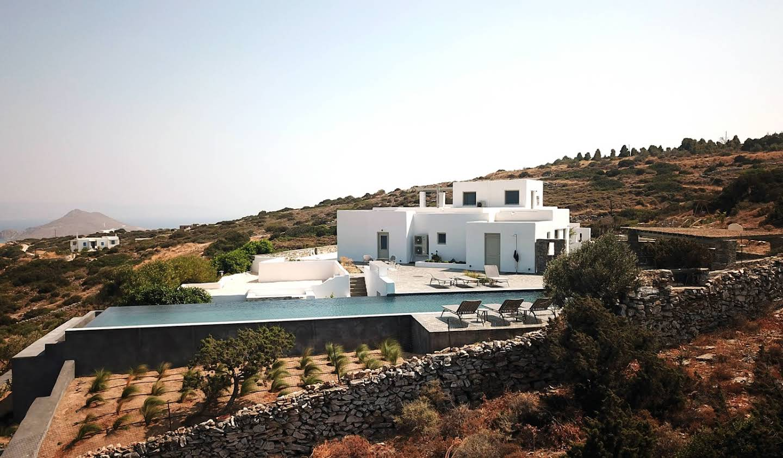 Villa avec piscine et jardin Paros