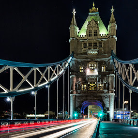 tower bridge by Chris Williams - City,  Street & Park  Street Scenes
