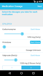 EpSMon - Epilepsy Self Monitor- screenshot thumbnail