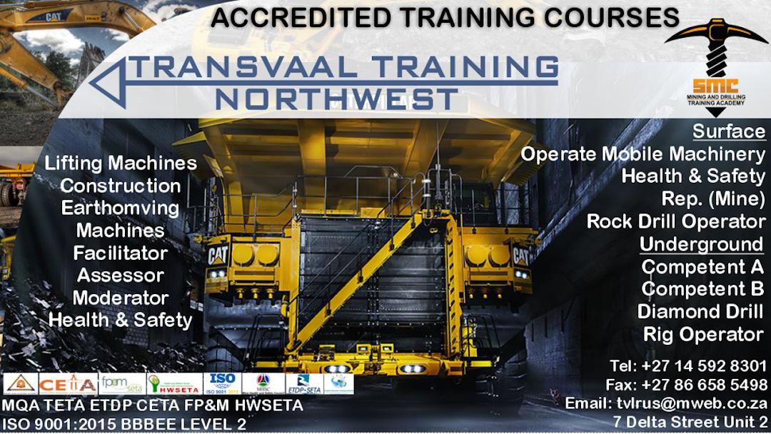 Transvaal Training Northwest Training Provider Northwest