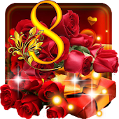 March 8 Roses Live Wallpaper Android APK Download Free By SweetMood