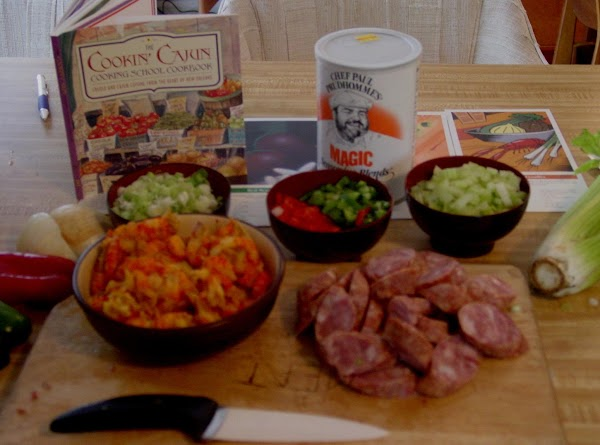 Get all your thing together great if you Sous Chef to help you
