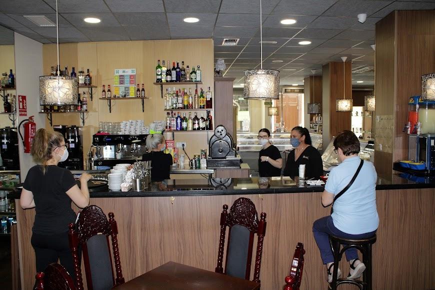 Confitería cafetería El Once de Septiembre.