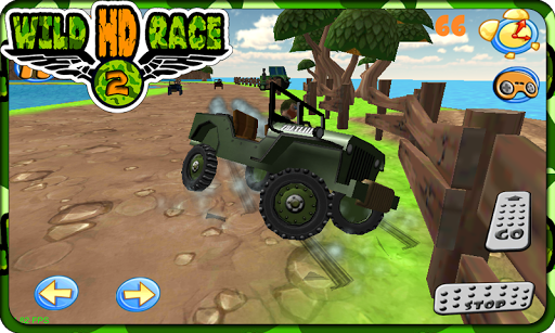 Wild Race Cars 2 Jeep Rally 3D