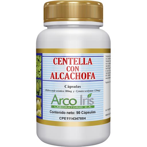 Centella Asiatica + Alcachofa 90 Cápsulas Arcoiris x 90 Capsulas