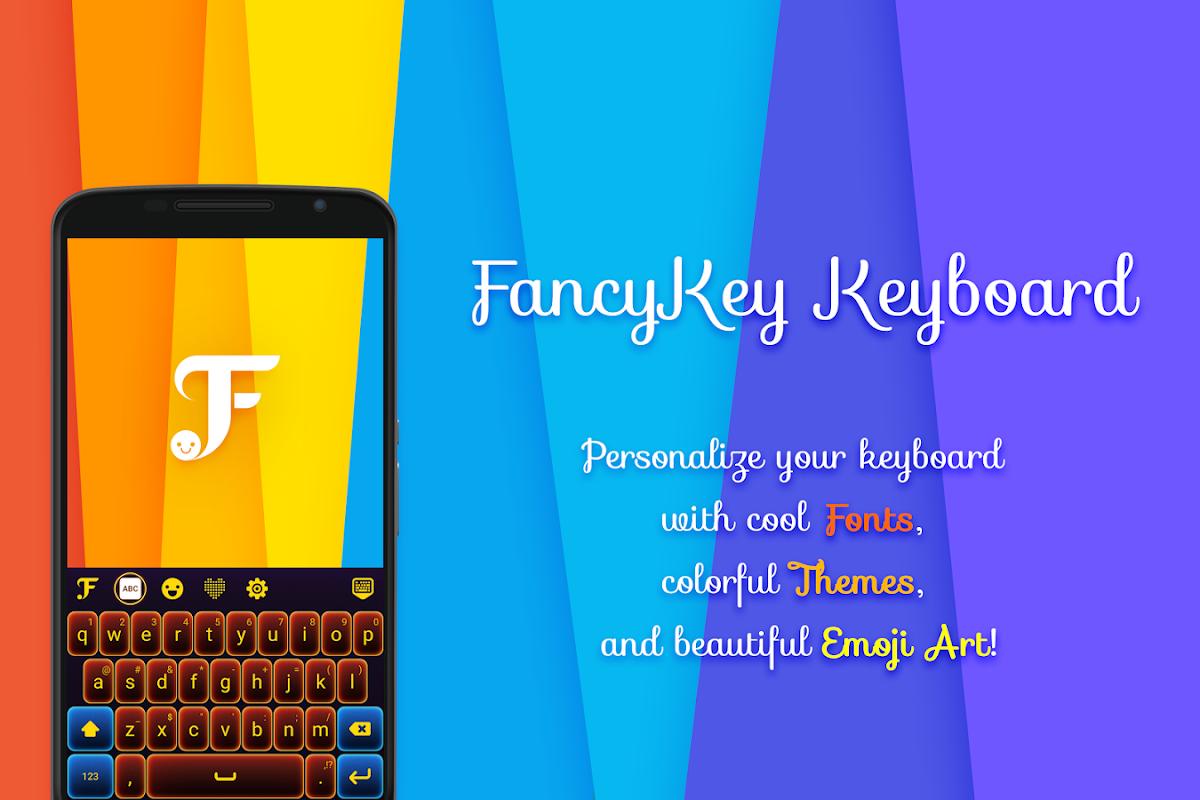 FancyKey Keyboard - Cool Fonts, Emoji, GIF,Sticker screenshots