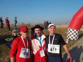 Zdjęcie: komandor Baca wśród najlepszych maratończyków Piotra i Lucjana !