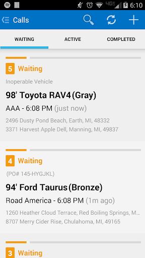 Towbook  screenshots 1