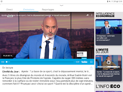FRANCE 24 - L'actualité internationale en direct Capture d'écran