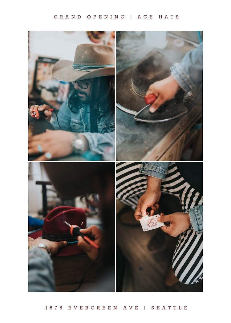 Ace Hats Grand Opening - Photo Card Template