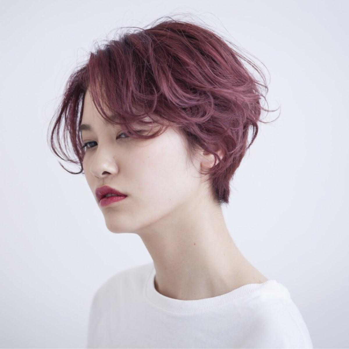 ピンクアッシュで色っぽくて女性らしいヘアスタイルまとめ Trill