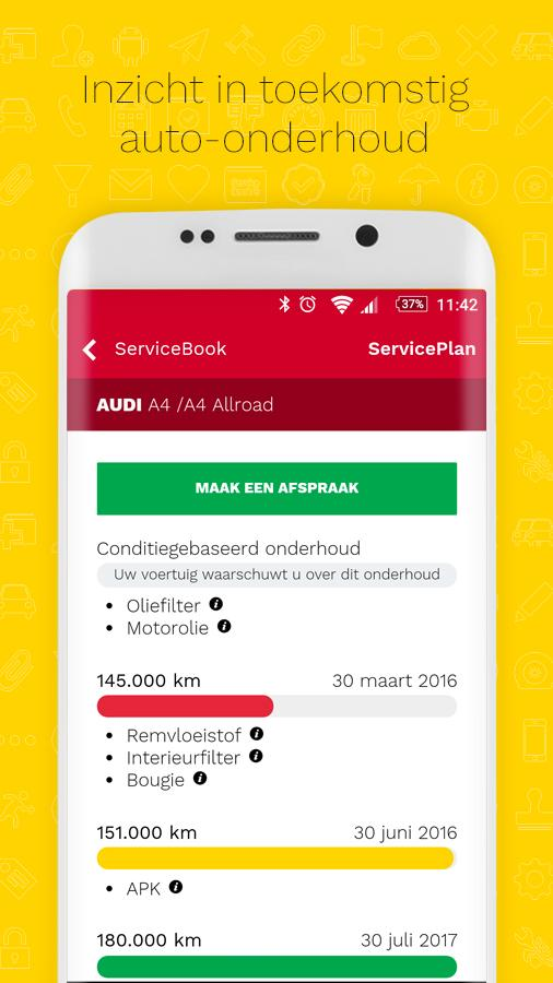 ServiceBook- screenshot