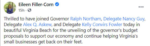 Why Is Northam Doling Out Public Cash at Partisan Events?