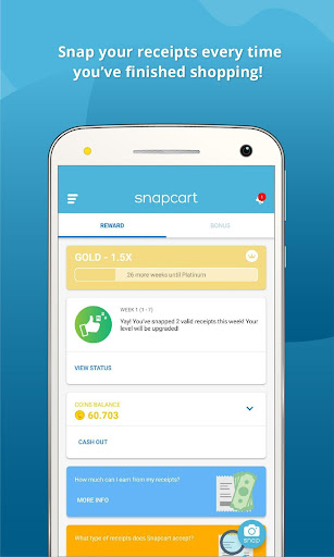 Snapcart – Snap Receipts, Get Rewards screenshot 1