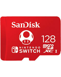SanDisk 128GB MicroSDXC 100 MB/s UHS-I Memory Card for Nintendo Switch