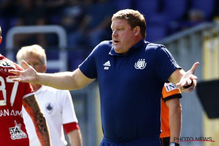 """Vanhaezebrouck pas tendre avec ses joueurs : """"Après une demi-heure, ne plus courir?"""""""
