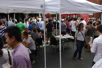 Photo: Outdoor block party at Varga Bar.