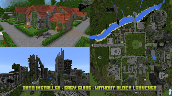 Apocalyptic City map for mcpe - náhled