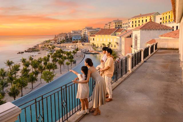 Shophouse địa trung hải sungroup được thiết kế theo kiến trúc từ nước Amalfi