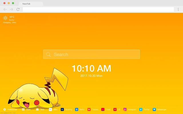 Btnewtab2vc popular HD new tab page theme
