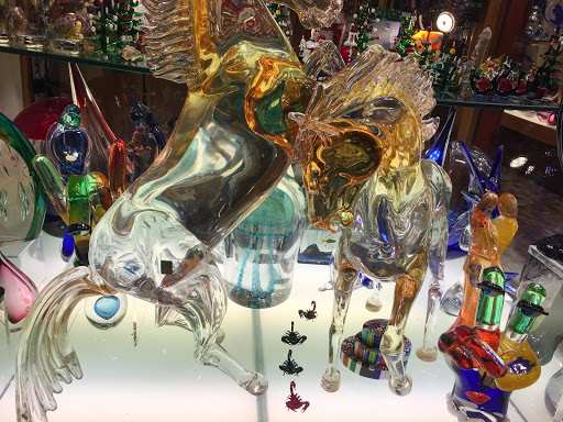 Venice-glass-horses.jpg - Horses made of glass in a shop window along the Procuratie Vecchie on Piazza San Marco, Venice.