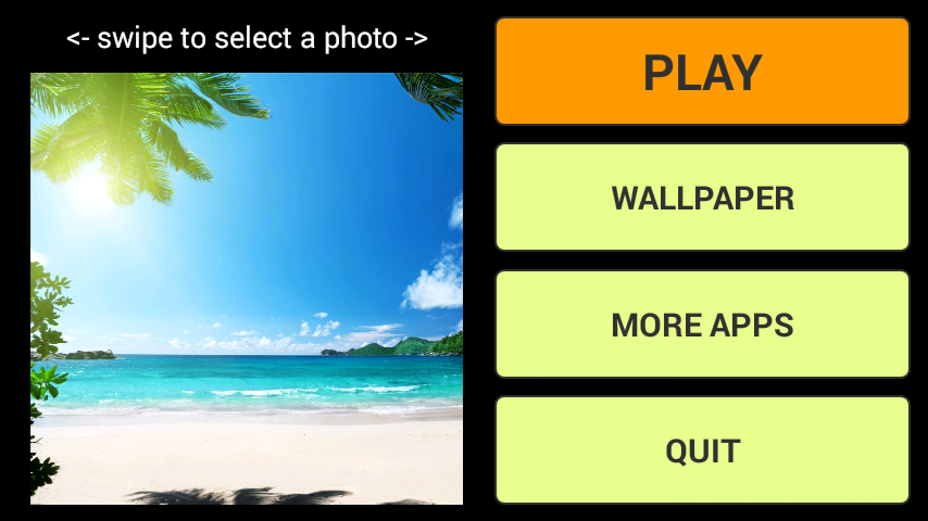 android Beach LWP + Jigsaw Puzzle Screenshot 0