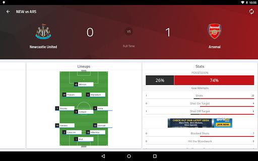 EPL Live: English Premier League scores and stats 8.0.4 Screenshots 12