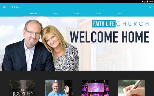 The Faith Life Church App - náhled