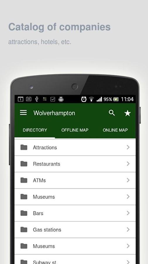 Wolverhampton-Map-offline 13