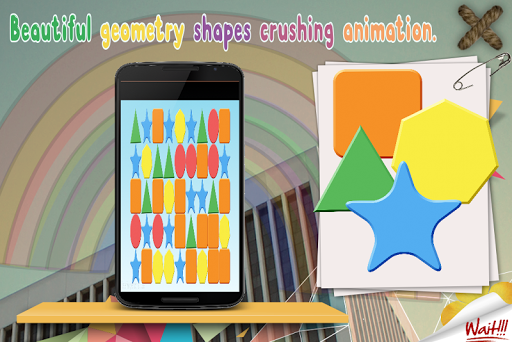 Geometry Shapes Swap:Matching