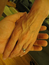 Photo: Definite veins in my hands now... old lady looking hands