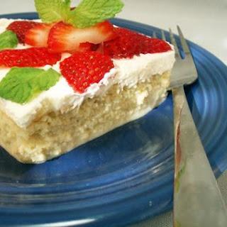 Gluten-Free Tres Leches Cake.