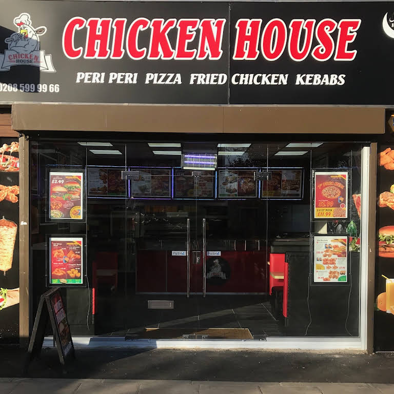 Chicken House Meal Takeaway Pizza Fried Grill Chicken