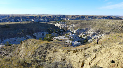 Photo: Neat Coulee on left, next canyon on right.