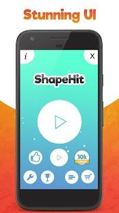 ShapeHit Insane Tunnel game - náhled