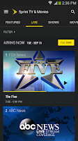 Screenshot of Sprint TV & Movies