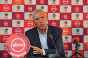 Absa Premiership coach of the month for August Ernst Middendorp.