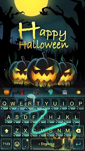 Happy Halloween Keyboard Theme- screenshot thumbnail