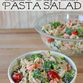 Meatless Ranch Pasta Salad