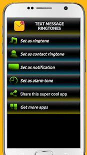 Text Message Ringtones - náhled