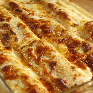 Beef Ragu Cannelloni.