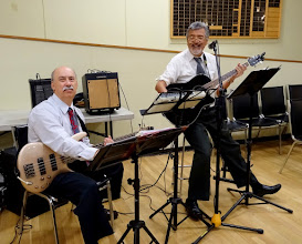 Photo: Music by George and Ron da Roza during Intermission 30Sep16