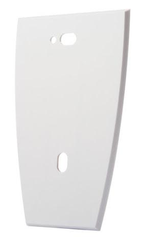 Monteringsplatta för montering på metall underlag vit