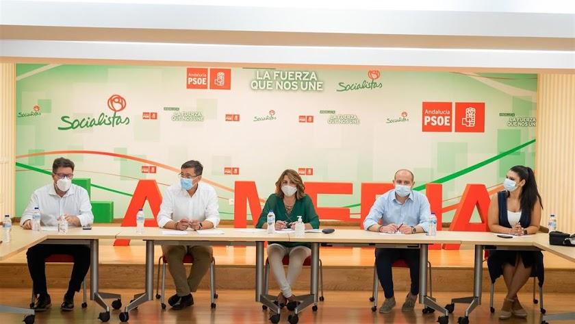 Susana Díaz ha estado hoy en Almería.